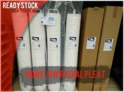 PFI High Flow 3M Radial Pleat Filter Cartridge Indonesia  large